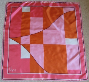 pink red and white geometric shapes