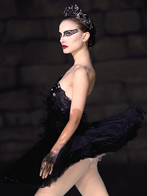 black swan ballerina costume. Creepy allerinas. Black Swan