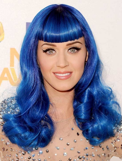 katty perry s weird hair styles