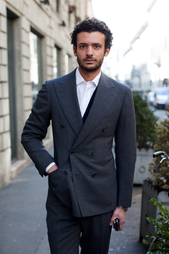 Beautiful naples city of trash piles and perfect tailoring for Italian fashion websites